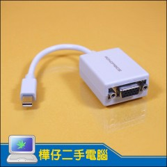 Monoprice Mini Displayport to VGA 轉接線
